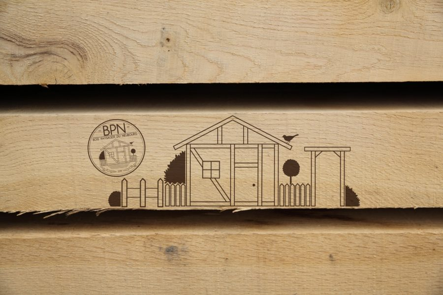 chêne planche bois paysager du Neubourg