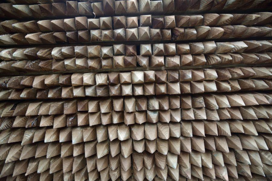piquetage bois pin autoclave bpn
